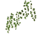 Artificial Garland Decoration - Dark Green Devil's Ivy - 7.5 Feet - Pack of 10
