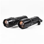 2AP203 2000 Lumen High Quality Handheld Flashlight  x2000 Zoom, Lot of 2