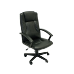 ALEKO® ALC1723BL Black Ergonomic Office Chair