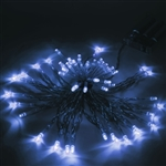 ALEKO 50 LED 16 Foot Battery Operated White Color Lights