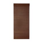 ALEKO BBL32X72BR02 Brown Bamboo Roll Up Blinds