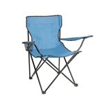 ALEKO BC02 Foldable Outdoor Chair, Light Blue