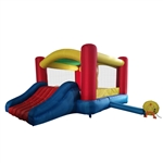 Castle Bounce House with Slide and Blower - Indoor and Outdoor - ALEKO