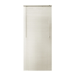 ALEKO® BL23X64AL Smooth PVC Vinyl Horizontal Window Treatment Blinds 1 inch (2.5 cm) Slats 23 X 64 Inches (58.4 X 162.6 cm), Alabaster