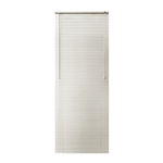 ALEKO® BL23X72AL Smooth PVC Vinyl Horizontal Window Treatment Blinds 1 inch Slats 23 X 72 Inches (58.4 X 183 cm), Alabaster