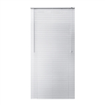 ALEKO® BL35X64WH Smooth PVC Vinyl Horizontal Window Treatment Blinds 1 inch (2.5 cm) Slats 35 X 64 Inches (88.9 X 162.6 cm), White