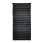 ALEKO® BL36X64BL Smooth PVC Vinyl Horizontal Window Treatment Blinds 1 inch (2.5 cm) Slats 36 X 64 Inches (91.4 X 162.6 cm), Black