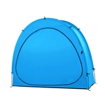 BS65BL 65 High Inch (165 cm) Bike Bicycle Waterproof Outdoor Storage, Blue Color