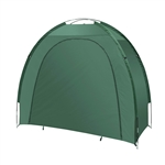 Outdoor Waterproof Bike Storage Tent - 82 X 70 X 34 Inches - Green