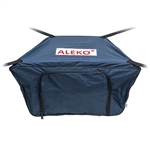 Front Bow Storage Bag for 8.4 Foot Boats -  26 x 16 Inches - Blue - ALEKO