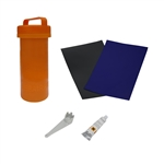 ALEKO® BTRKITB Complete Essentials Inflatable Boat Repair Kit, Blue