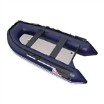 Inflatable Boat with Air Deck Floor - 10.5 Ft - Blue - ALEKO