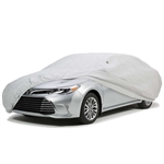 Easy Fit Weather Resistant Car Cover - Silver Coated Polyester - Up to 200 Inches