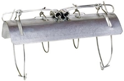ALEKO CH639 Tunnel Mole  Galvanized Steel Animal Trap