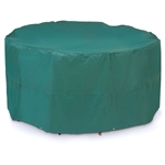 Weather Resistant Table and Chair Set Patio Cover - Green - 76 x 35 inches