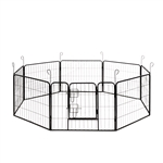 ALEKO DK24X32 Heavy Duty 8 Panel Dog Kennel