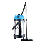 Lightweight Self-Cleaning Wet Dry Vacuum Cleaner - 8 Gallons - Blue - ALEKO