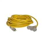 ALEKO  EC12G3P50 ETL Heavy Duty 50-Foot(15m) Extension Cord, Yellow