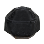 Heavy Duty Fire Pit Cover - Black - 28 x 21 Inches - ALEKO