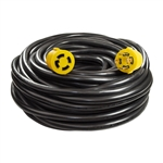 ALEKO GEC4100 Generator Extension Cord ETL Listed 30A 125/250V 10/4 4PIN, 100 Feet (30.5 m)