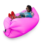 Inflatable Lounger/Pool Float - 75 x 30 Feet - Purple - ALEKO