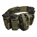 ALEKO PBAH2C Paintball Harness Belt Heavy Duty, Smooth Original Camouflage Green Design