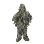 ALEKO PBGS51 Tactical Paintball Hunting Forest Camouflage Woodland Ghillie 3 Piece Full Body Suit