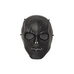 ALEKO  PBM213BK Skull Skeleton Airsoft Mask With Wire Mesh Goggles Tactical Paintball Airsoft Protective Safety Mask, Black