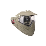 ALEKO  PBSRDLM06OL Anti Fog Paintball Face Mask With Visor Full Coverage Protection Gear, Olive