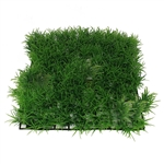 ALEKO PE002 10 x 10 Inch Green Square Artificial Soft Grass PA for Fish Tank