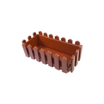 ALEKO  PP320TC Terra Cotta Thermoformed Plastic Picket Fence Nursery Seedlings Pot