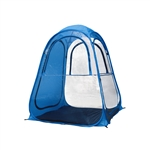 ALEKO PT01 Large Outdoor Portable Pop Up Pet Travel Camping Shelter Tent, Blue