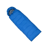 ALEKO SB6BL Sleeping Bag in Camping Bag Four-seasons Insulation, Blue