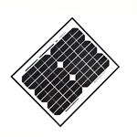 ALEKO® 10W Solar Panel for any 24V DC application (gate opener, portable charging system, etc.)