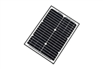 ALEKO Solar Panel Monocrystalline 20W for any DC 12V Application (gate opener, portable charging system, etc.)