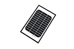 ALEKO® Solar Panel Monocrystalline 5W for any DC 12V Application (gate opener, portable charging system, etc.)