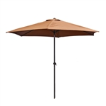 9 Ft Outdoor Umbrella, Tan Color