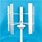 Vertical Wind Turbine Generator - 20W - 12V