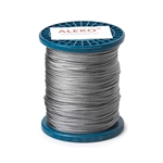 ALEKO® WR1/16G304F500 1/16 Inch 7X7 304 Stainless Aircraft Steel Cable Wire Rope 500 Feet