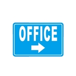 Aluminum Office Sign for Commercial and Residential - 8 x 12 Inches - ALEKO