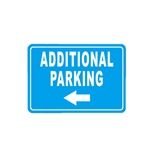Aluminum Additional Parking Sign - 7 x 10 Inches - ALEKO