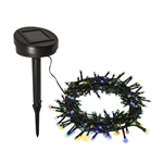 ALEKO Solar Powered String Lights - 100 LED - Multicolored