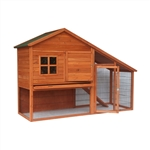 83X32X57In Wooden Pet House