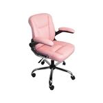 ALEKO ALC2155PN High Back Pink Office Chair
