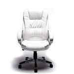 Ergonomic Office Chair - ALC2216WH- White- ALEKO