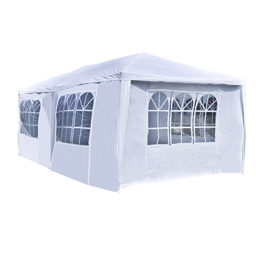 Yard, Garden & Outdoor Living Aleko 5 X 5 Ft Gazebo Tent 420d Oxford Canopy Party Tent Cream Color Awnings & Canopies
