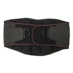 Lower Back and Waist Support Belt - Black - Medium Size - ALEKO