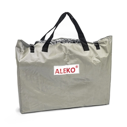 Floorboard Storage and Carrying Bag for 8-11 Foot Inflatable Boats - 47 x 34 Inches - Light Gray - ALEKO