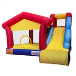 Inflatable Bounce Playhouse - 11.5 x 10.5 x 8 Feet