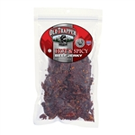 Old Trappers Traditional Style Jerky - Hot and Spicy - 10 oz bag - ALEKO